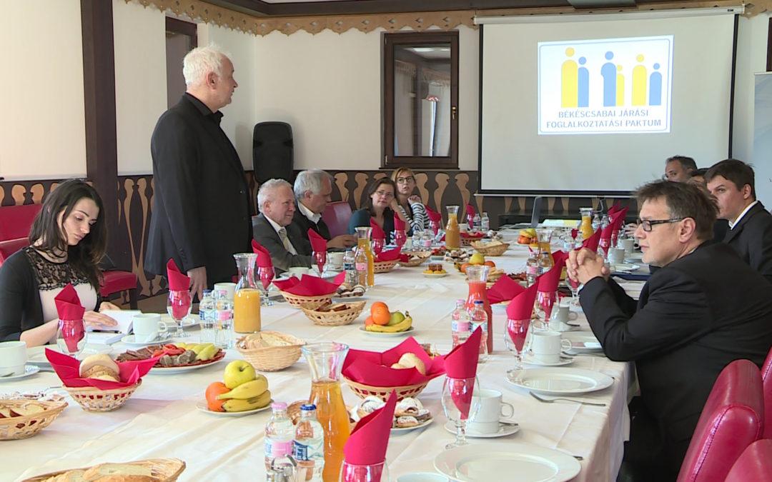 Foglalkoztatási Paktum Irányító csoport ülés